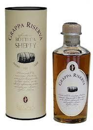 Grappa Riserva, Botti da Sherry, gereift im Sherryfass Sibona, 0,5l