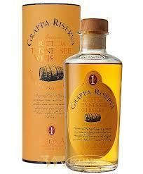 Grappa Riserva, Botti da Tennessee-Whiskey, gereift im Whiskeyfass Sibona, 0,5l