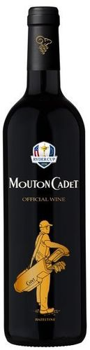 Ryder Cup Edition Rothschild Mouton Cadet Rouge 2014 – 0,75l