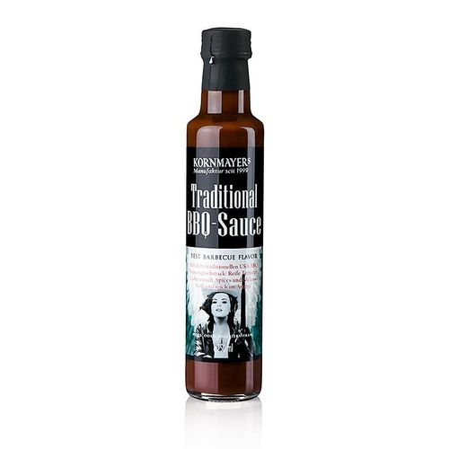 Traditional BBQ Sauce, Grillsauce, Kornmayer, 250 ml