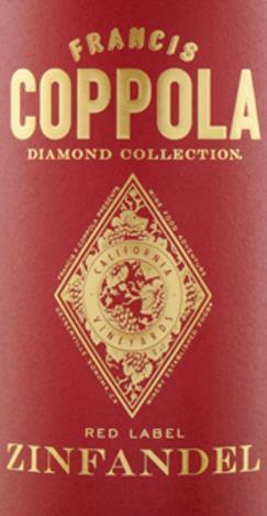 Coppola Diamond Collection Zinfandel Red Label Kalifornien 2014 - Lebensmittelkennzeichnung klicken